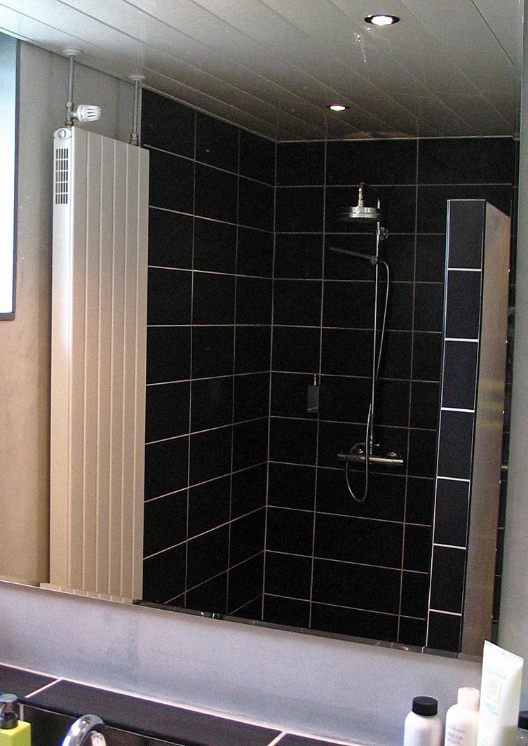 Stucwerk badkamer marmorino klusbedrijf enschede beterbert - Douche italiaans ontwerp ...